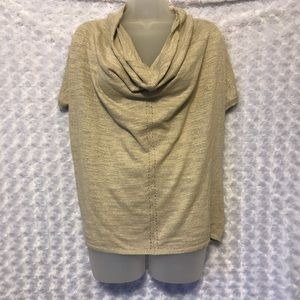 Anthropologie Kitted & Knotted size XS Shimmer